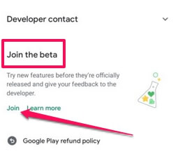 among us beta for android