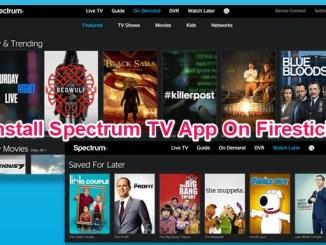 install spectrum tv app on firestick
