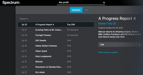 spectrum tv app firestick