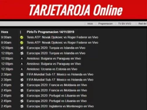 tarjetaroja online