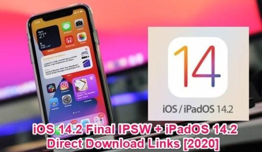 ios 14.2 final ipsw and ipados 14.2 ota profile ipsw