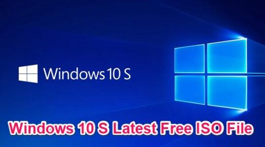 windows 10 s iso