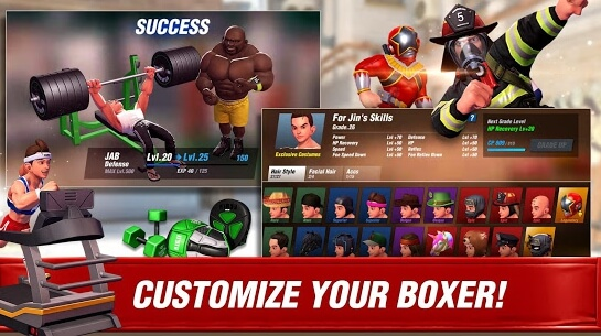 boxing star apk screenshots