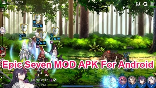 epic seven game mod apk