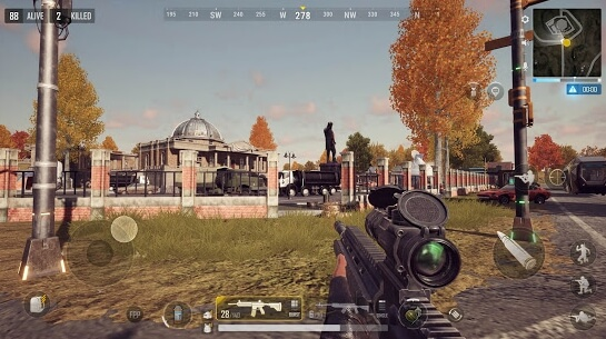 pubg new state apk screenshots