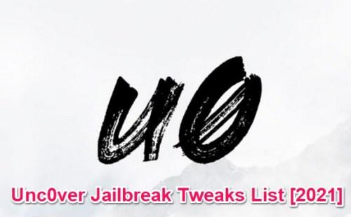 unc0ver jailbreak tweaks list