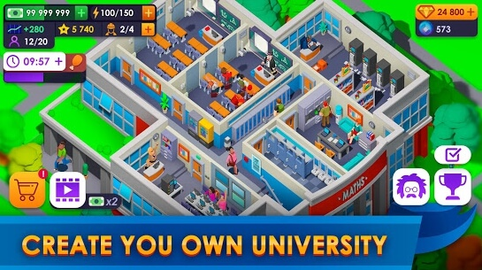 university empire tycoon apk screenshots