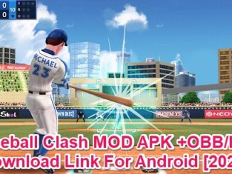 baseball clash apk mod