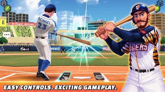 baseball clash apk screenshots