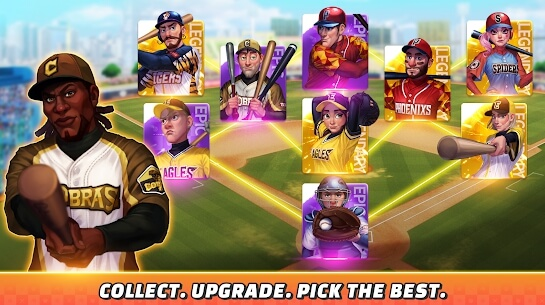 baseball clash screenshots