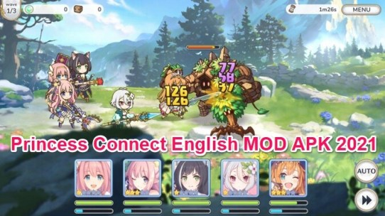 princess connect global mod apk
