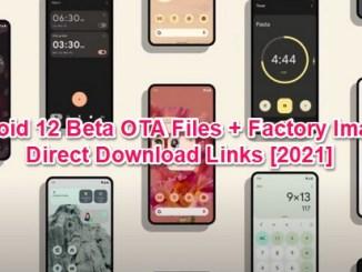 android 12 beta ota download links