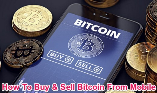 buy and sell bitcoin from mobile