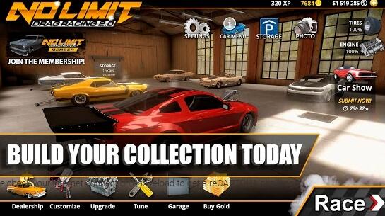 no limit drag racing 2 apk screenshots