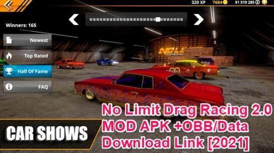no limit drag racing 2.0 mod apk
