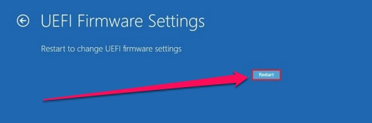 bios reboot windows