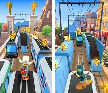 subway surfers mod screenshot