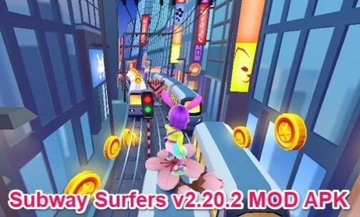 subway surfers toyko apk mod