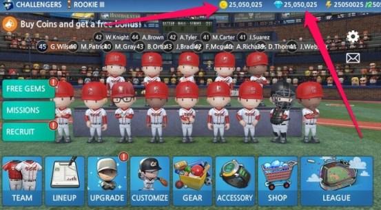 baseball 9 modded apk
