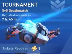 mech arena unlimited tickets