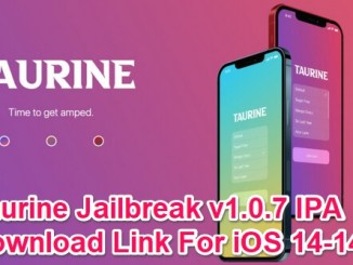 taurine jailbreak 1.0.7 download