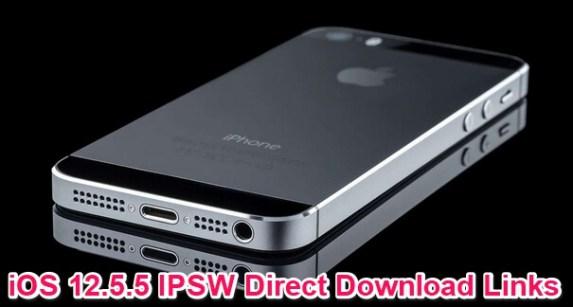 ios 12.5.5 ipsw download links