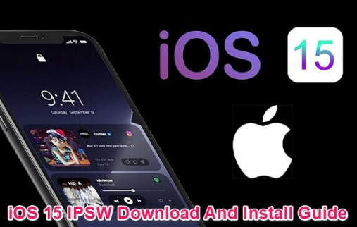 ios 15 ipsw and install guide