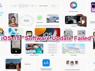ios 15 software upadate failed fixed