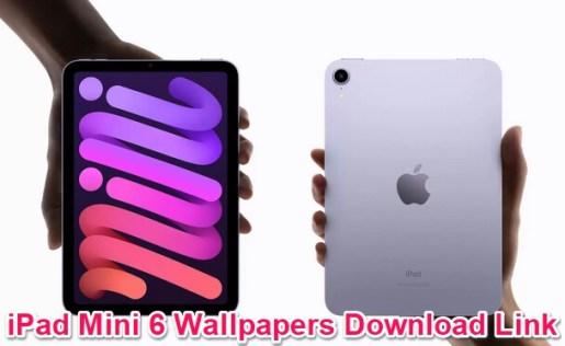 ipad mini 6 stock wallpapers