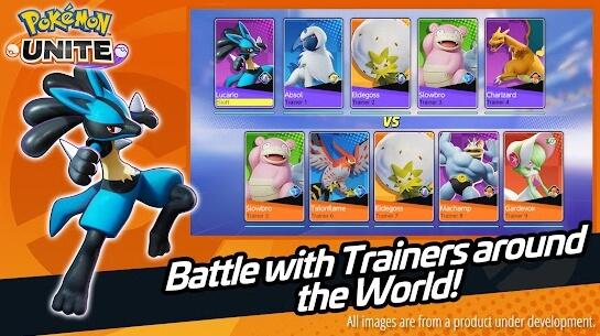 pokemon unite apk screenshot