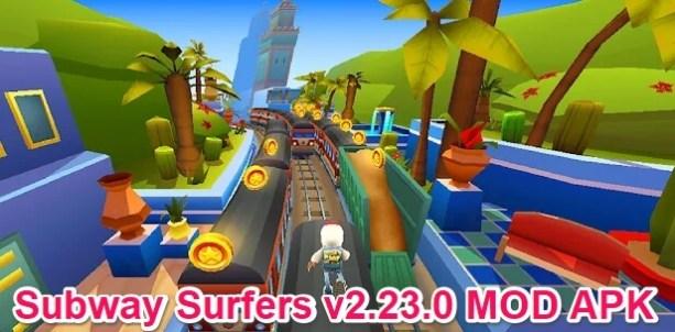 subway surfers v2.23.0 mod apk