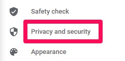 chrome privacy and security