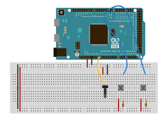 arduino due waveform generator