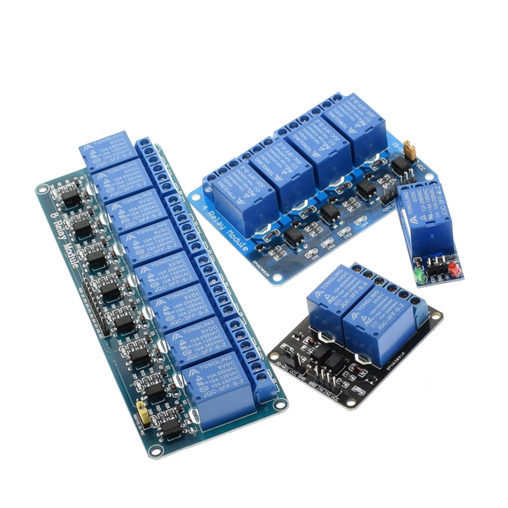 hight resolution of 5v 12v 1 2 4 8 channel relay module with optocoupler relay output 1 2 4 8 way relay module for arduino