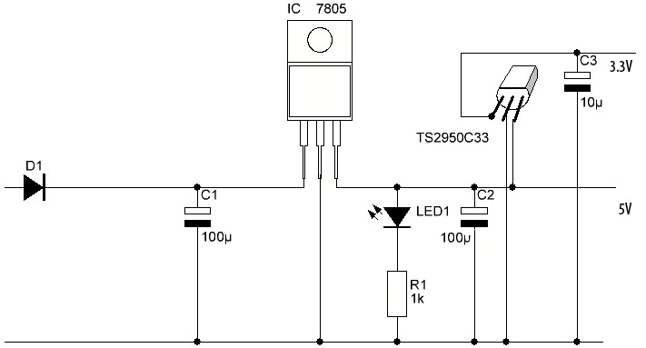 Simple Arduino with 3.3 Volt