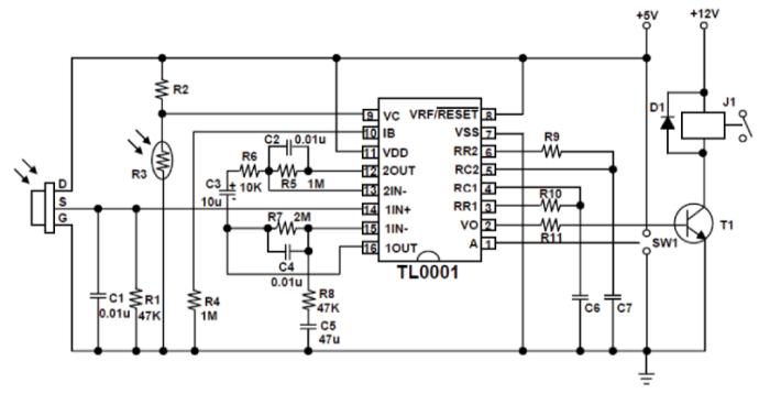 pir d203s schematic