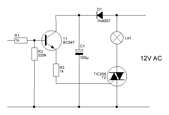 Switching low voltage AC with a microcontroller