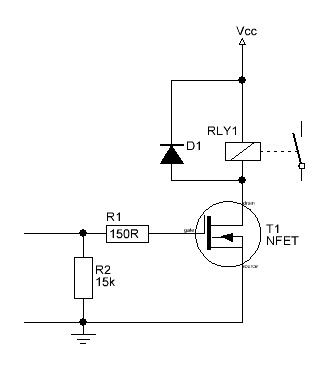Using FET's to Switch a load