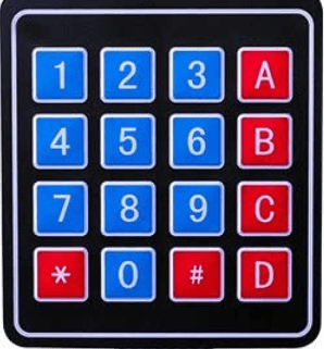 clavier matriciel arduino