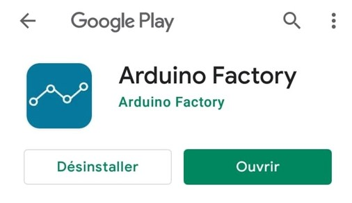 application arduino factory play store