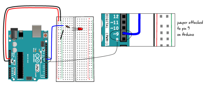 chapter 6 potentiometer circuit stepstep  arduino to go