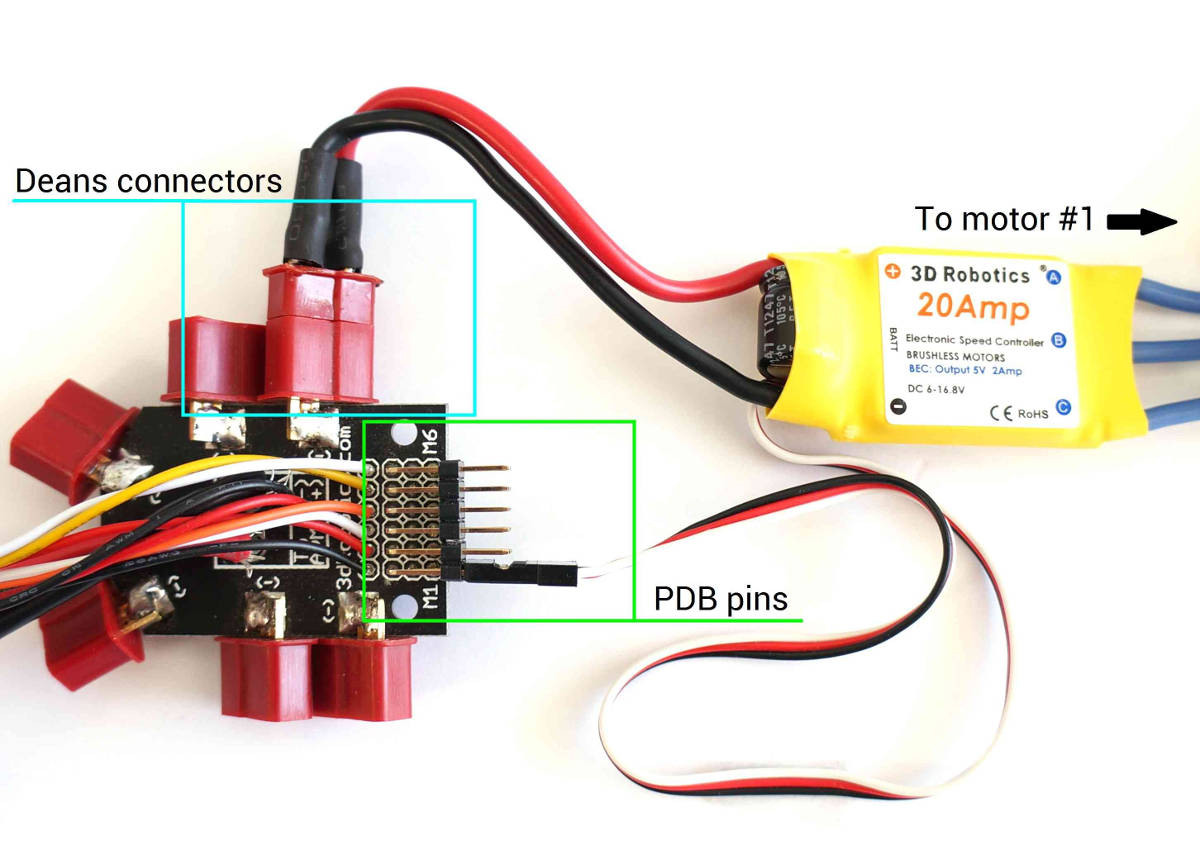 hight resolution of archived apm2 x wiring quickstart u2014 copter documentation images pdb esc connect jpg