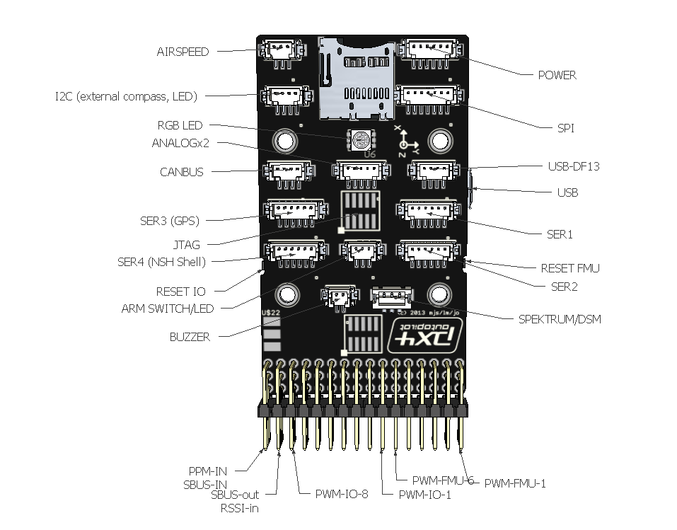 acadia 7 pin diagram