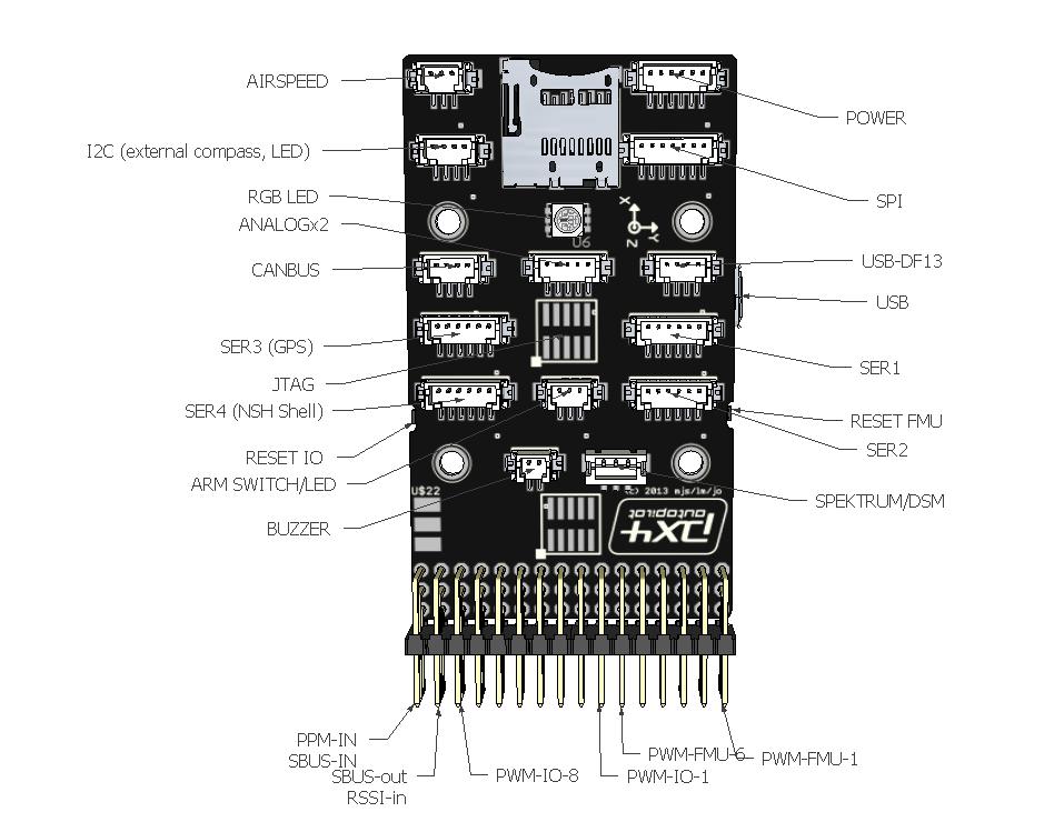 pixhawk 2.4.8 wiring diagram