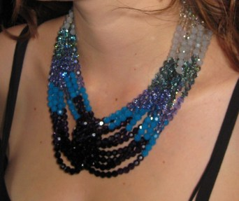 Swarovski crystal necklace made for my daughter