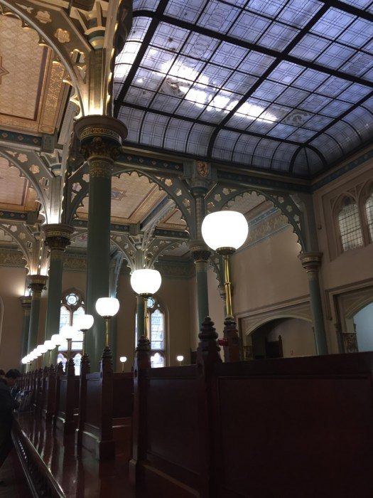 Interior, ANZ 1890 bank, still operational