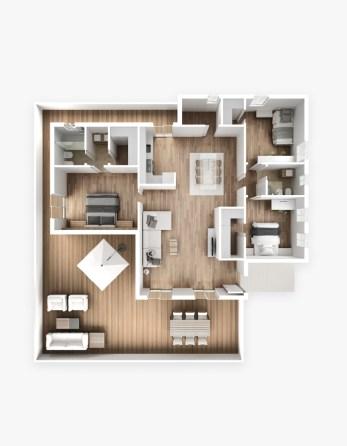 Plan Interieur 3D