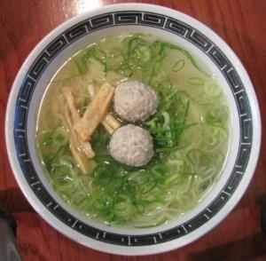 てっぺん塩麺