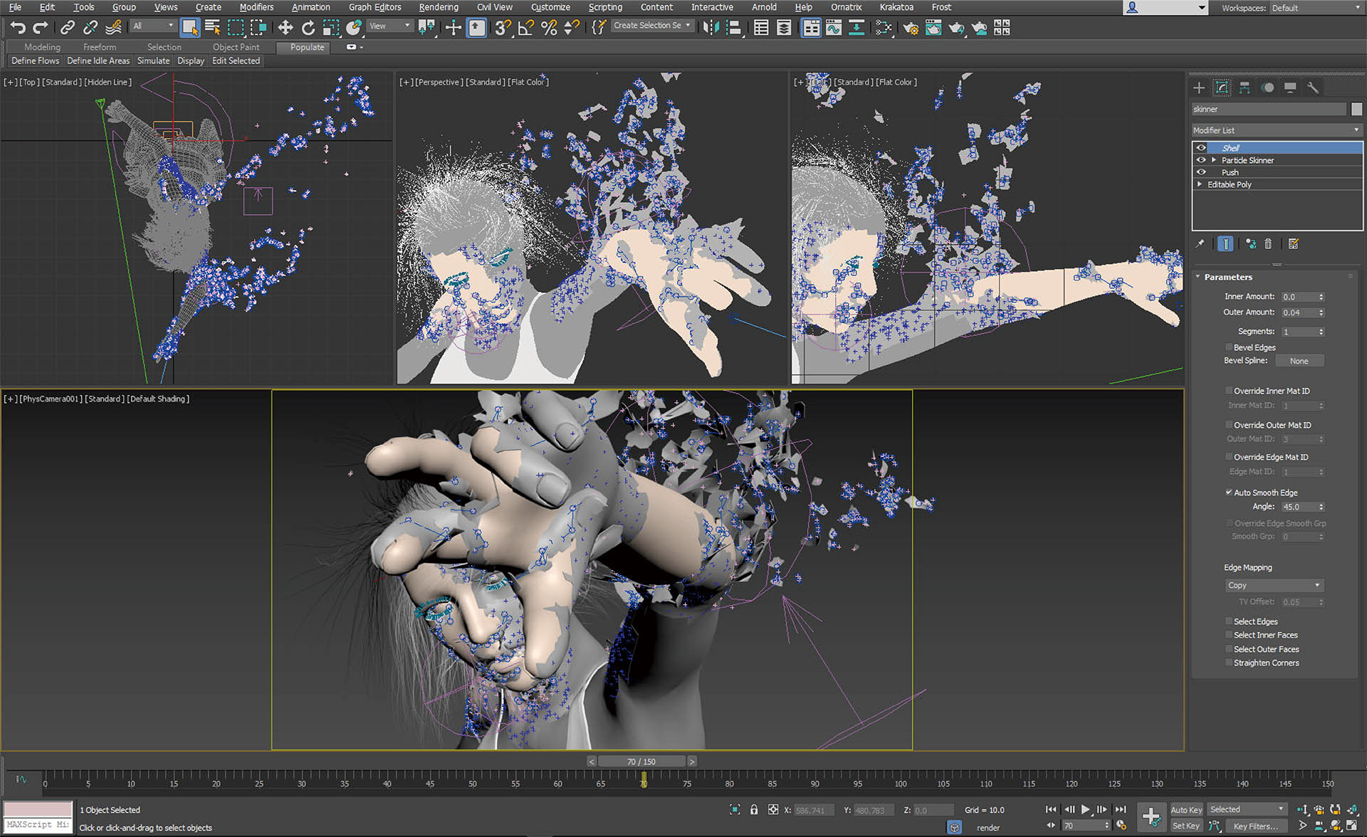 3 Mparticles Flow