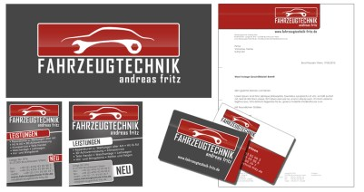 Fahrzeugtechnik Fritz Corporate Design